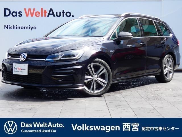 フォルクスワーゲン ゴルフヴァリアント Rライン Volkswagen純正 インフォテイメントシステム Composition Media Discover Pro 前進・後退時 衝突軽減ブレーキ バックカメラ アクティブインフォディスプレイ LED