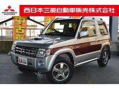 パジェロミニエクシード 4WD ターボ CDMDステレオ ETC