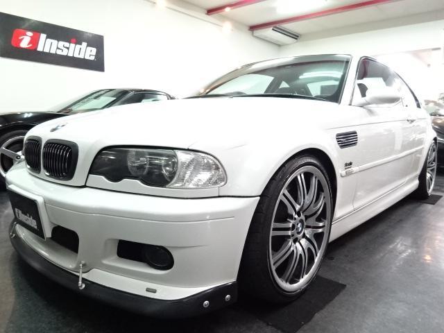 BMW M3クーペACシュニッツア仕様黒革チタンマフラ車高調ブレンボ