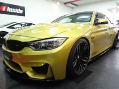 BMW M4M4クーペカーボンエアロ可変マフラ足回りテックMCPU黒革