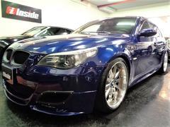 BMW M5M5ARQRAYマフラ車高調カーボンIN20AW白革SRナビ