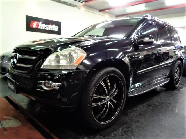 メルセデス・ベンツ GL4504マチック黒革SRナビTV24AWBカメラPゲート