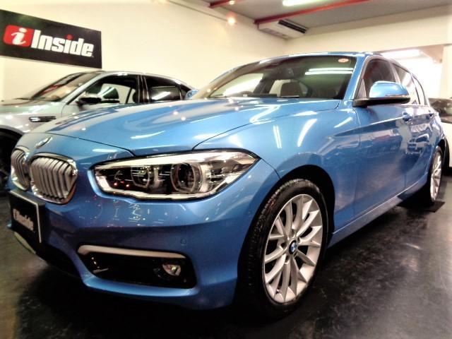BMW 118iファッショニスタ限定車白革ナビレーダークルーズBカメ