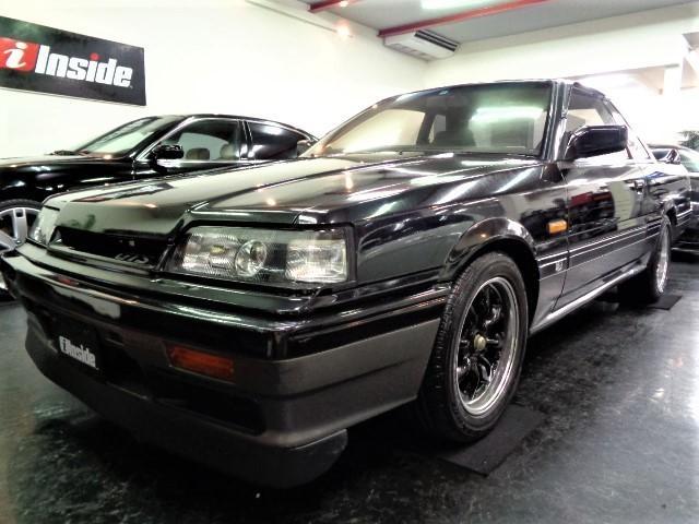 日産 スカイライン GTS-Xツインカム24Vターボ GTS-R仕様マフラーワタナベAWTベルト交換済み