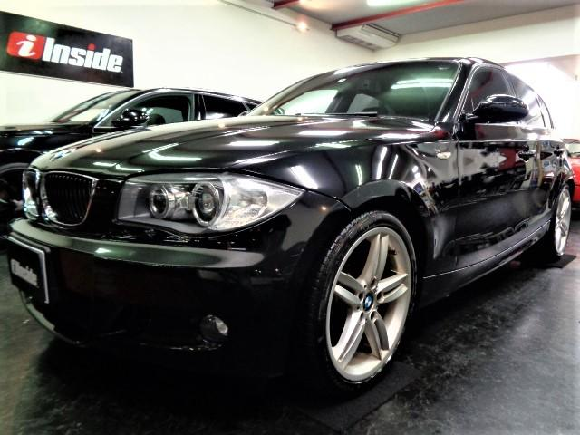 BMW 130i Mスポーツ N52B30A直6エンジン265PS6速ミッションMスポーツフルエアロMスポーツ専用サスMスポーツ18インチAWブラックレザーインテリアHDDナビガラスSRパワーシートシートヒーターHIDミラーETC