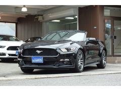フォード マスタングエコブースト プレミアム コンバーチブル アップルカープレイ