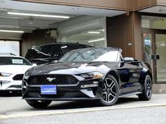 フォード マスタングエコブーストプレミアム コンバーチブル 10AT カープレイ