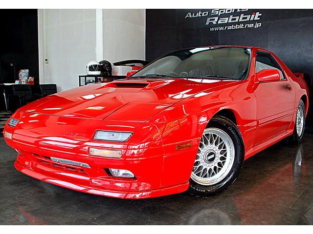 マツダ GT-X フルノーマル BBSアルミ フロントリップ