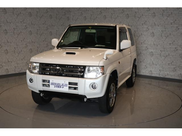 三菱 ホワイトパールセレクト 4WD CDオーディオ キーレス
