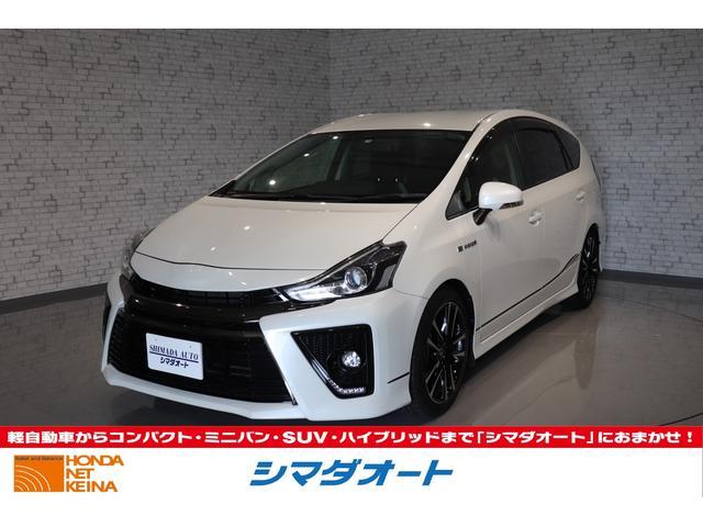 トヨタ Sツーリングセレクション・G's 純正SDナビ フルセグTV
