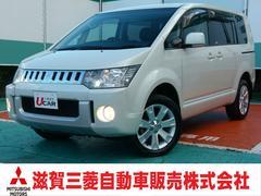 デリカD:5M 4WD 8人乗り 左電動スライド SDナビ 18アルミ