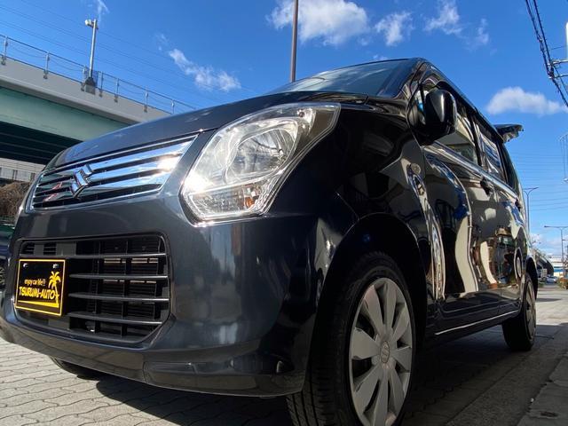 スズキ ワゴンR FX-E エアコン パワステ パワーウィンドウ エアバッグ SDナビ ワンセグ 保証付