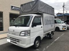 ハイゼットトラック 荷台アルミパネル幌付き オートマ 4WD ETC