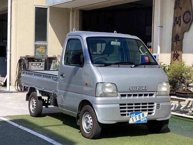 スズキ キャリイトラック KUスペシャル 4WD AT エアコン パワステ