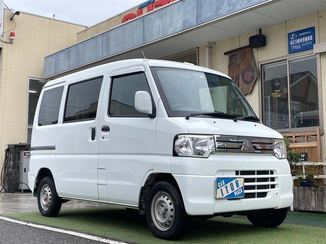 三菱 ミニキャブバン CL ハイルーフ 4WD キーレス ETC