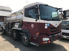 UDトラックスタンク車 容量11000kl アンモニア水