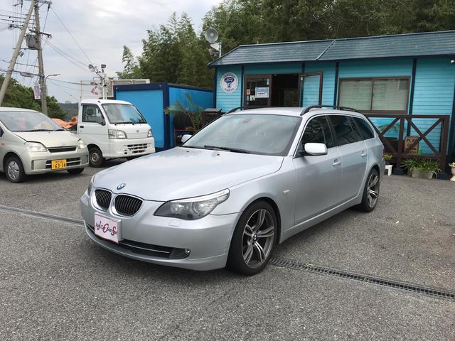 BMW 525iツーリング AW18インチ フルセグTVナビ DVD