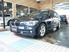 BMW116i スポーツ 黒革 ナビ/フルセグTV バックカメラ