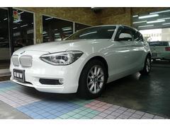 BMW116i スタイル ハーフレザー調シート HID ナビ/TV
