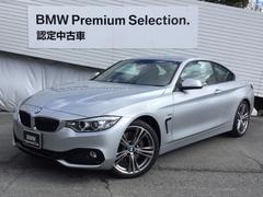 BMW435iクーペスポーツ直6TB黒革1オナHDDナビキセノン