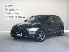 BMW116iスポーツ認定保証純正ナビキセノンOP17インチAW