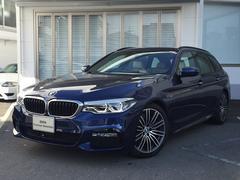BMW530iツーリングMスポーツデビューPKGベージュ革1オーナ