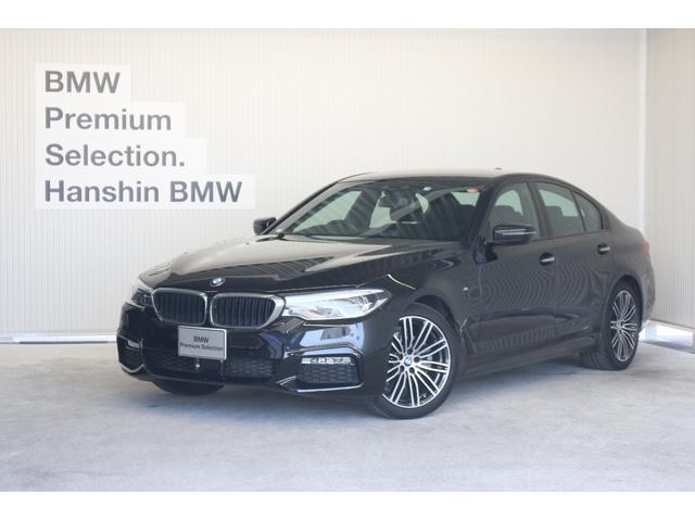 BMW 523d Mスポーツハイライン黒革1オーナACCシートヒータ