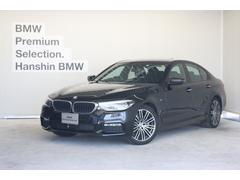 BMW523d Mスポーツハイライン黒革1オーナACCシートヒータ