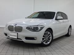 BMW116i スタイル認定保証純正HDDナビPサポート1オーナー