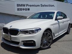 BMW523i Mスポーツ登録済み未使用車ACCDアシストPシート