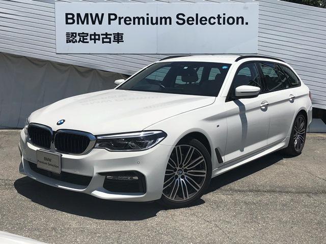 BMW 523dツーリングMスポーツデビューPKGベージュ革元デモカ