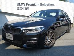 BMW530eMスポーツアイパフォーマンスデビューPKG黒革Bカメ