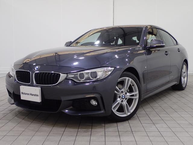 BMW 420iグランクーペMスポーツ認定保証黒革シートヒータACC