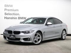 BMW420iグランクーペ Mスポーツ認定保証赤革ACCHDDナビ