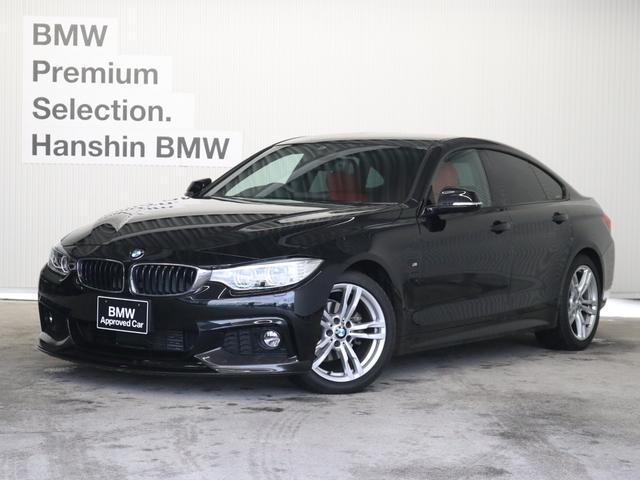 BMW 420iグランクーペ Mスポーツ認定保証赤レザーACCLED