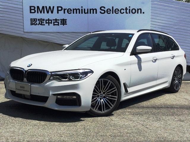 BMW 523dツーリング Mスポーツ ハイライン弊社デモカー黒革