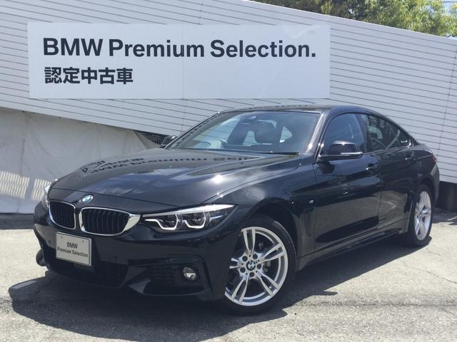 BMW 420iグランクーペ Mスポーツ登録済み未使用車LEDライト