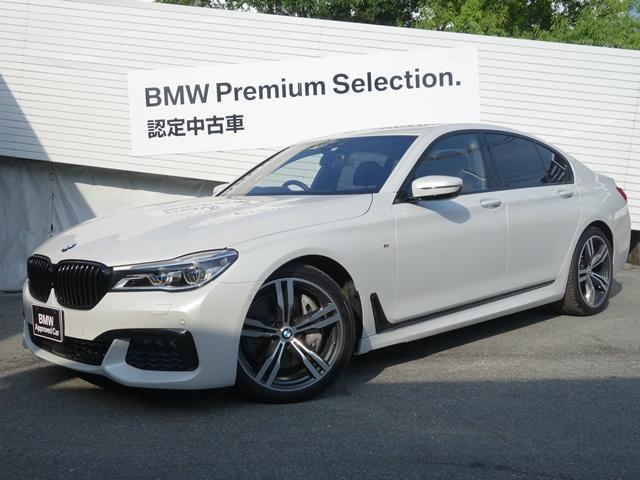 BMW 750i Mスポーツ認定保証V8タ-ボリーモートP1オーナー