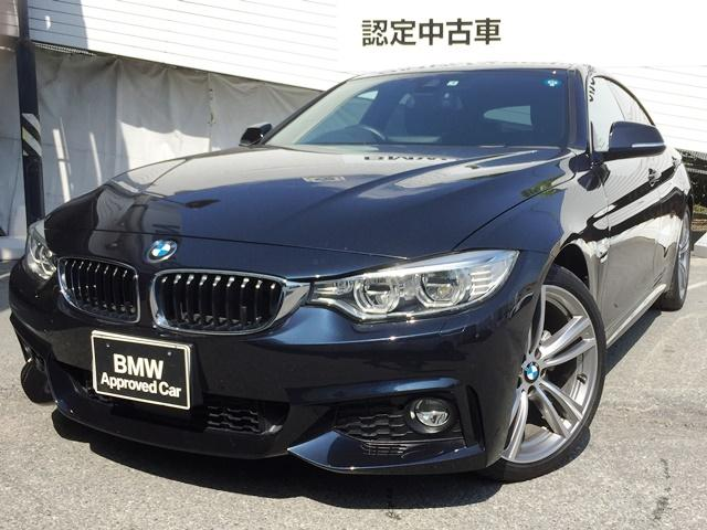 BMW 420iグランクーペ MスポーツSR黒革ACCLED19AW