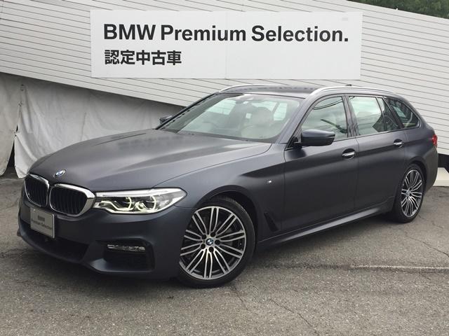 BMW 523dツーリング Mスポーツ 特別外装色ハイラインB&W