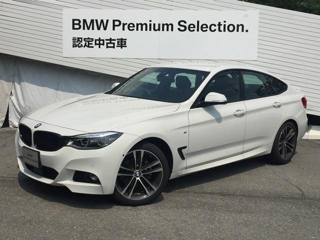 BMW 320dグランツーリスモMスポーツ認定保証付黒革LEDライト