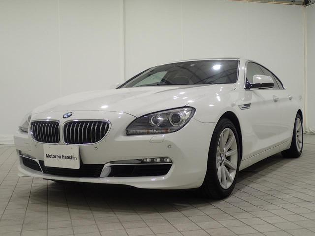 BMW 640iグランクーペ認定保証サンルーフ黒レザ-純正HDDナビ