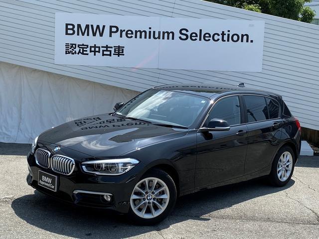 BMW 118iスタイル1オーナバックカメラLEDクルコン認定保証