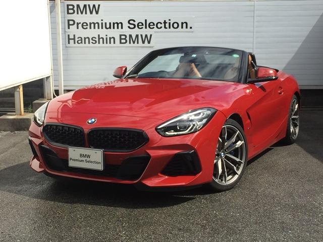 BMW Z4 M40i認定保証元デモカー19インチAWレザーヘッドアップ