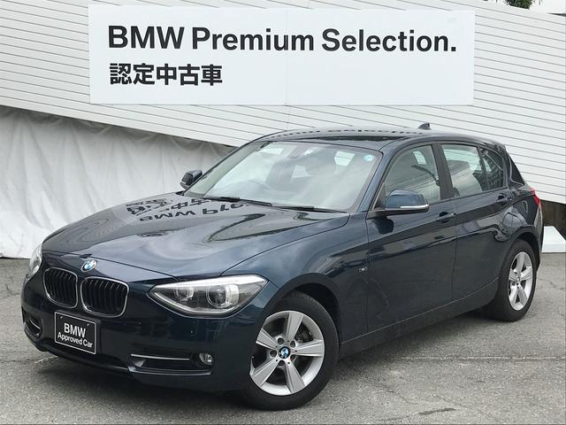 BMW 116iスポーツワンオーナーキセノン純正HDDナビ純正AW