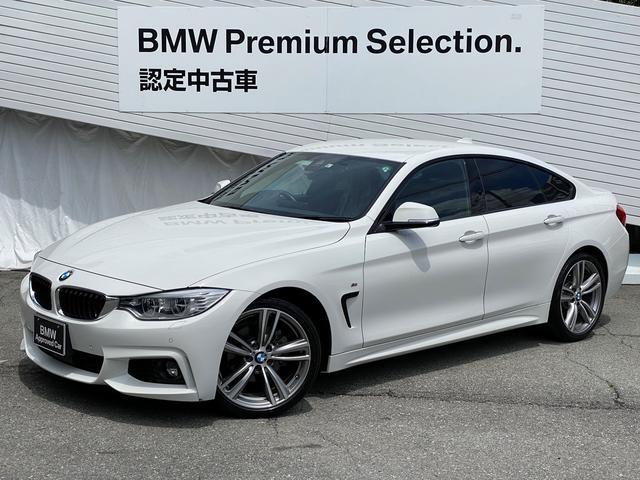BMW 4シリーズ 428iグランクーペMスポーツ1オナ純正HDDナビ認定保証
