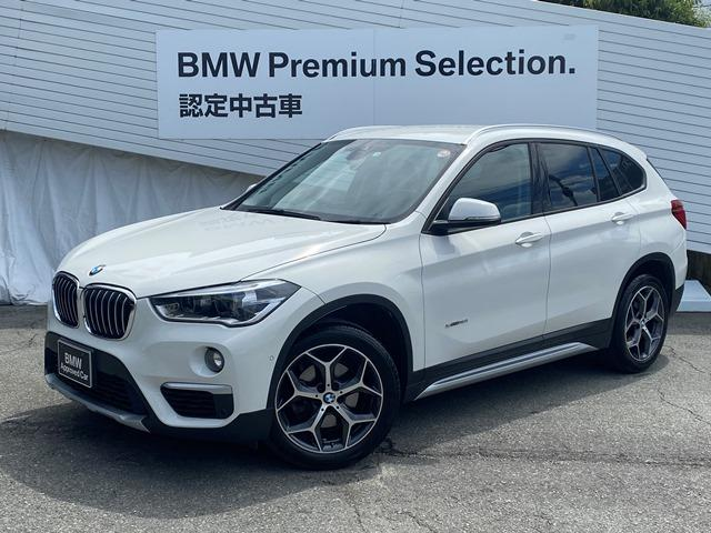 BMW X1 sDrive18ixライン認定保証純正HDDナビバックカメラ