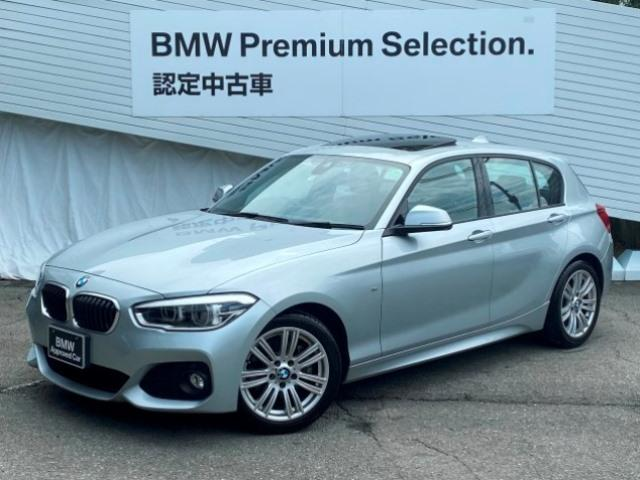 BMW 1シリーズ 118i Mスポーツ 認定保証純正HDDナビゲーション純正17インチアロイホイールサンルーフミラー内蔵ETCインテリジェントセーフティバックカメラリアパークディスタンスコントロールエアコンF20