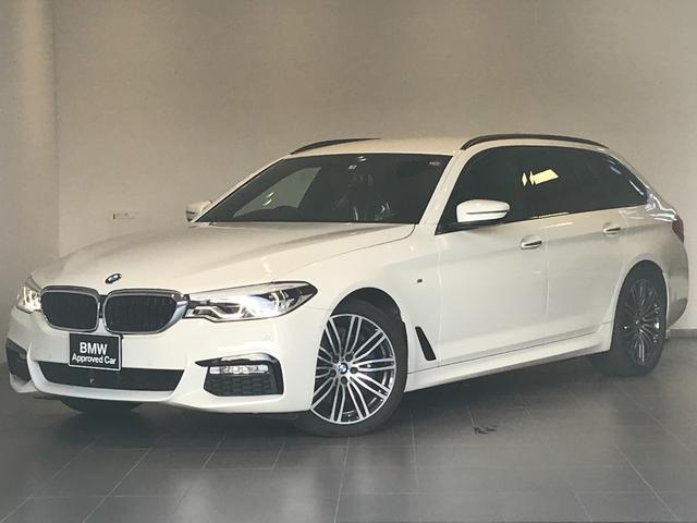 BMW 5シリーズ 530iツーリング Mスポーツ デビューPKG Mブレーキ ジェスチャーコントロール ソフトクローズドア 純正19インチAW LEDヘッドライト アクティブクルーズ ブラックレザーシート オートトランク シートヒーター G31