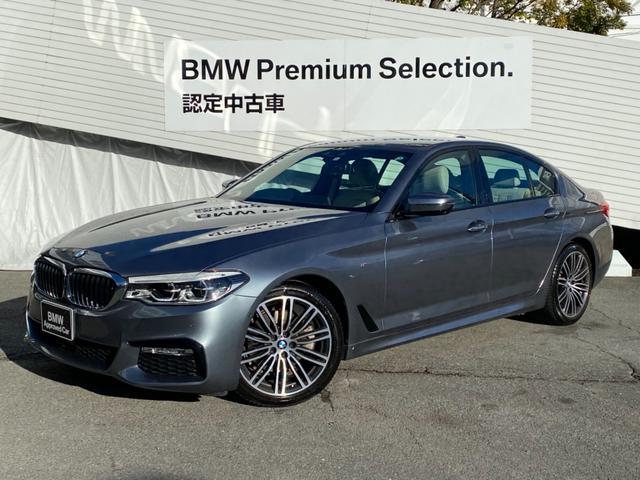 BMW 523i Mスポーツ ハイラインパッケージ 元弊社デモカー 白革レザーシート シートヒーター 純正19インチAW 電動リアゲート ワイヤレス充電 ヘッドアップディスプレイ アクティブクルーズコントロール バックカメラ 認定保証